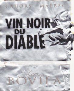 Bovila Vin Noir du Diable