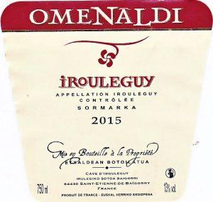 Irouleguy Omenaldi