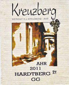 Kreuzberg H.J. Hardtberg Frühburgunder