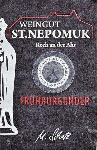 St. Nepomuk Frühburgunder