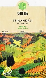 Shilda Winery Tsinandali wit