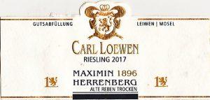 Loewen Maximin Herrenberg Riesling